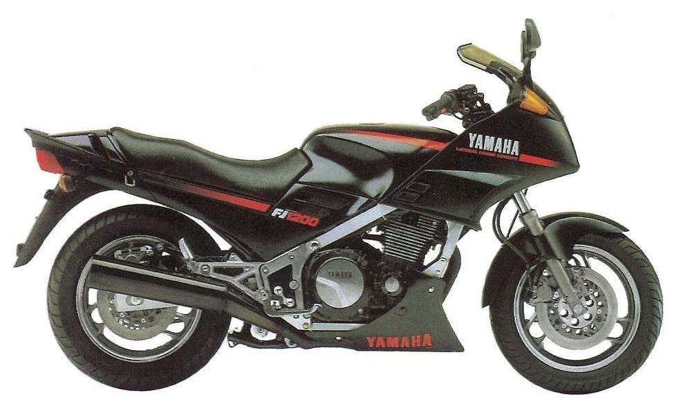 YAMAHA FJ-1200 ABS specs - 1992, 1993 - autoevolution